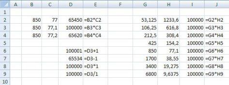 Excel 2007 számítási hiba