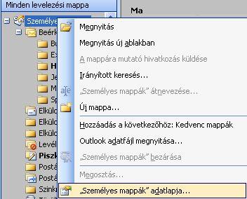 szemelyesmappa Veszélyes MS Outlook korlátozás